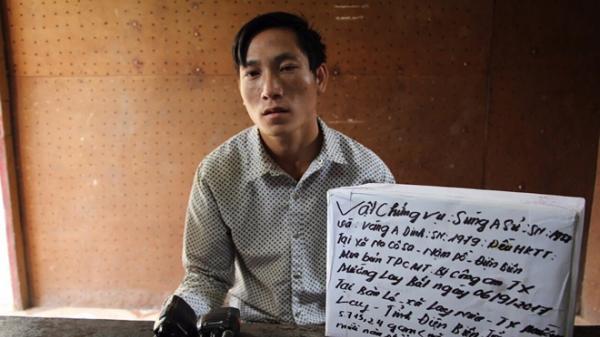 Điện Biên: Nổ súng bắt giữ đối tượng vận chuyển 5,7kg ma túy, chém xối xả Công an