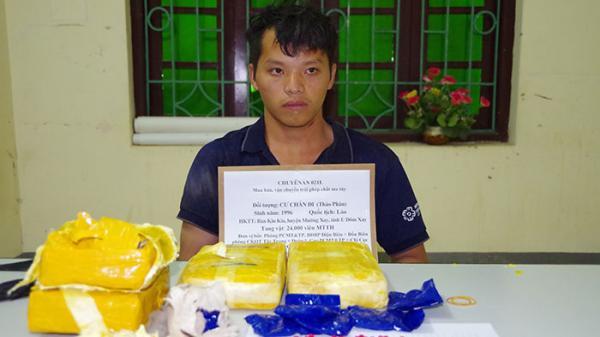 Điện Biên: Bắt vụ vận chuyển 24.000 viên ma túy tổng hợp từ Lào về Việt Nam