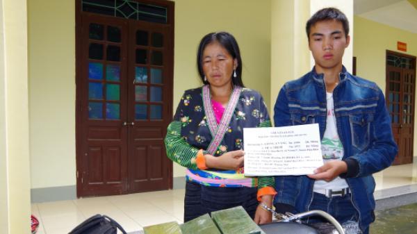 Điện Biên: Bắt quả tang 2 đối tượng vận chuyển trái phép 7 bánh heroin