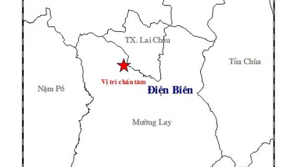 Liên tiếp xảy ra động đất ở Điện Biên