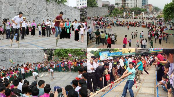 Tưng bừng các hoạt động văn nghệ, thể thao kỷ niệm 63 năm chiến thắng Điện Biên Phủ