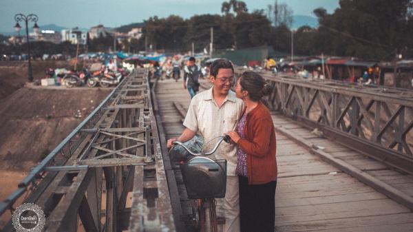 """Dân mạng phát cuồng bởi bộ ảnh cưới độc lạ """"ông bà anh""""của cặp đôi người Điện Biên"""