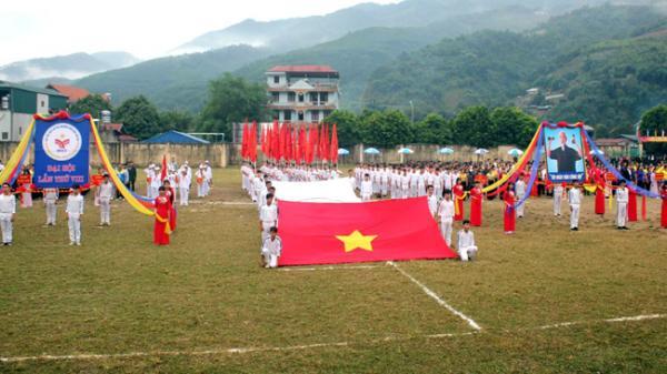 Khai mạc Đại hội Thể dục thể thao lần thứ VIII năm 2017 tại huyện Mường Chà