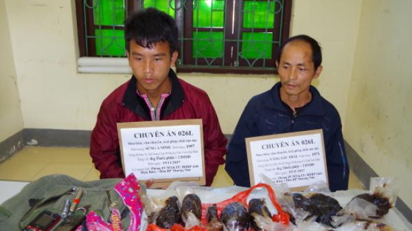 Điện Biên: Bắt giữ 2 đối tượng vận chuyển 4kg thuốc phiện từ biên giới vào nội địa