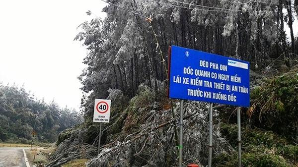 Điện Biên: Cảnh báo rét đậm, rét hại và băng giá