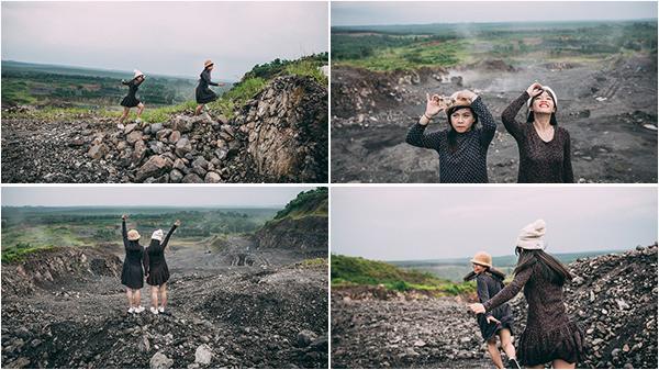 """Ở mỏ đá Núi Nứa - ai dám tin lại có được những khoảnh khắc """"tình bể bình"""" thế này"""