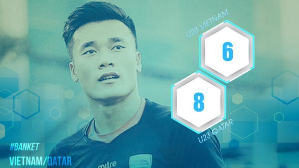 8 con số cho thấy U23 Qatar không quá vượt trội U23 Việt Nam