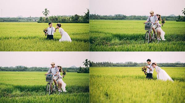 """Chẳng cần đi đâu xa, cánh đồng lúa ở Đồng Nai chính là điểm cứ giơ máy lên là có ngay hàng trăm bức ảnh """"sống ảo"""""""
