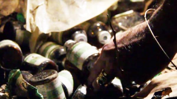 Kim tiêm, vỏ chai thuốc an thần la liệt trong cơ sở bơm nước vào heo ở Đồng Nai