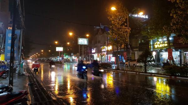 TP. Biên Hòa có mưa lớn trái mùa