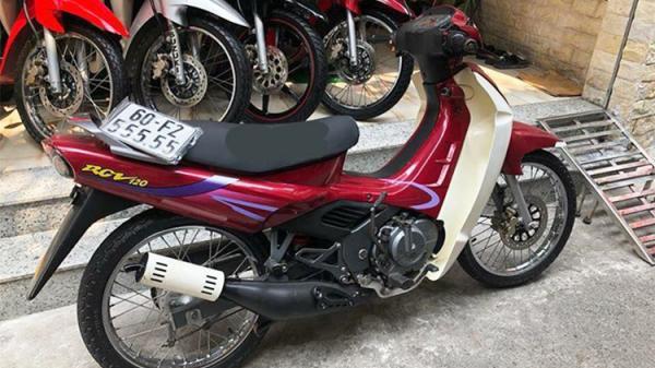 """Xe máy Suzuki RGV biển """"ngũ quý"""" ở Đồng Nai rao bán hơn 400 triệu ở Sài Gòn"""