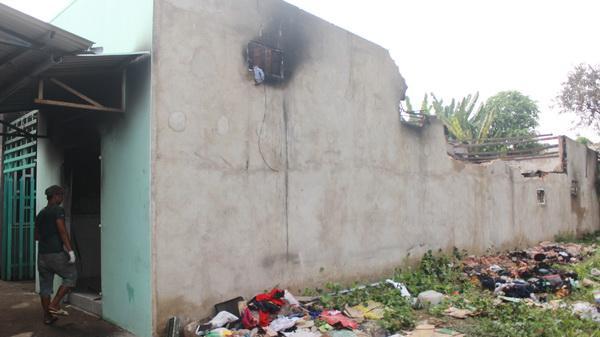 Đồng Nai: Một sản phụ và 4 trẻ em kịp thời tháo chạy khỏi căn nhà đang cháy