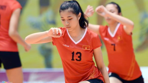 Hoa khôi bóng chuyền trong đội hình tuyển trẻ Việt Nam