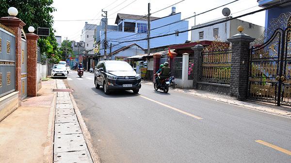 Thông xe đường Hà Huy Giáp huyện Long Thành