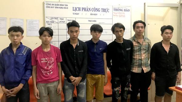 Đội hình sự đặc nhiệm Hướng Nam bắt băng trộm nhí 'chôm' đồ cảnh sát do thanh niên Đồng Nai cầm đầu