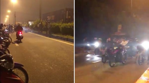 Đồng Nai: Hàng chục 'quái xế' tụ tập đua xe trong đêm