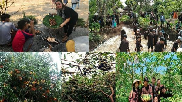 8X Đồng Nai mạnh dạn kết nối các nhà vườn ở địa phương, phát triển mô hình du lịch vườn trái cây đa dạng