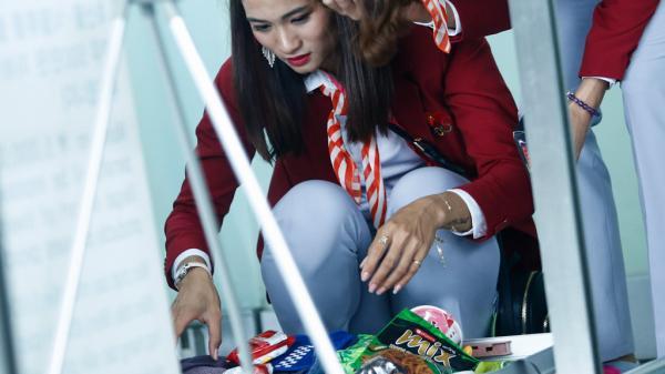Hoa khôi điền kinh mang vali mỳ gói đi tranh 'vàng' SEA Games