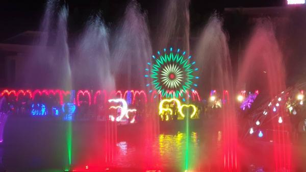 Lần đầu tiên tại Đồng Nai: Kinh đô ánh sáng với màn siêu trình chiếu ánh sáng đèn Led khổng lồ