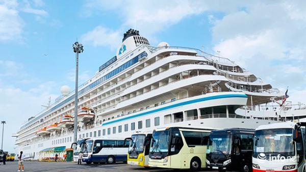Đà Nẵng đón tàu du lịch thứ 2, đưa khách khách Âu, Mỹ đến thăm chỉ trong 3 ngày