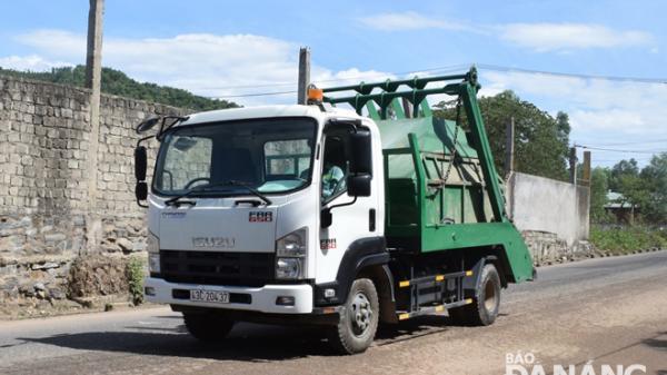 Đà Nẵng: Mua sắm 20 xe thu gom rác mới và xe chuyên dụng quét đường