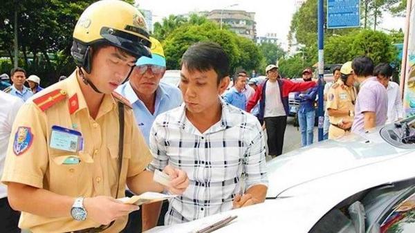Mức xử phạt lỗi không có giấy phép lái xe mới nhất năm 2020.