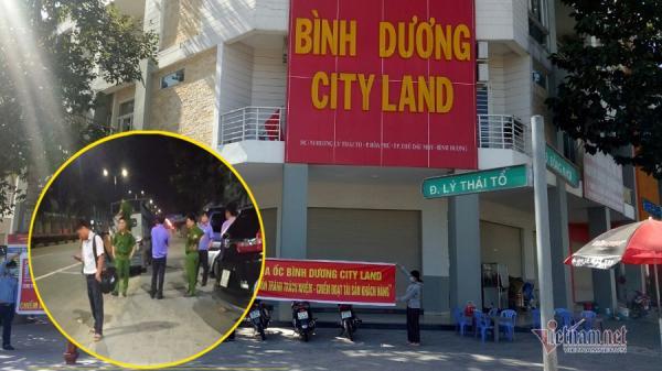 Khám xét trụ sở Bình Dương City Land lừa bán dự án ma