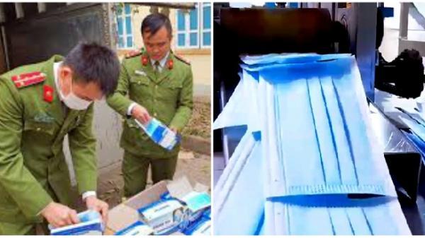 Thu giữ 142 nghìn khẩu trang của chủ cơ sở người Trung Quốc tại Bình Dương
