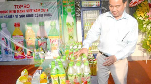Làm nước ép trái cây thương hiệu Việt