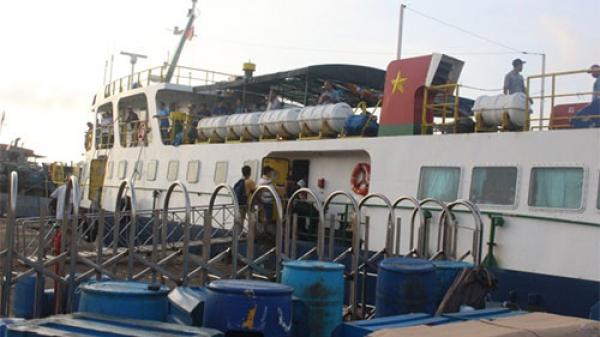 Phú Quý tạm dừng việc đón tiếp khách đi du lịch tại đảo