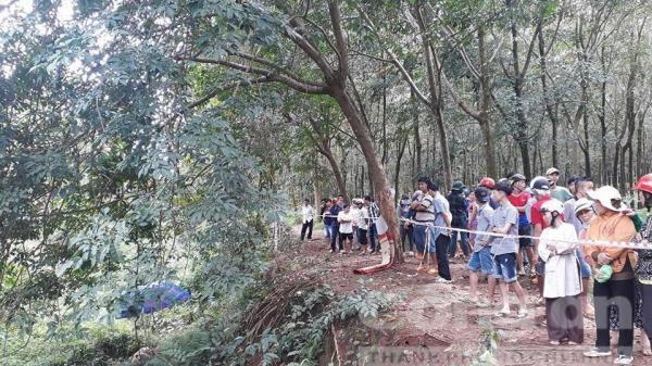Đồng Nai: Truy tìm tung tích nạn nhân bị giết trong lô cao su