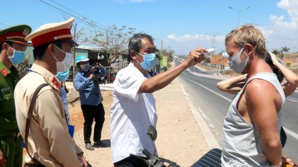 Bình Thuận lập chốt kiểm soát dịch Covid-19 tại các cửa ngõ