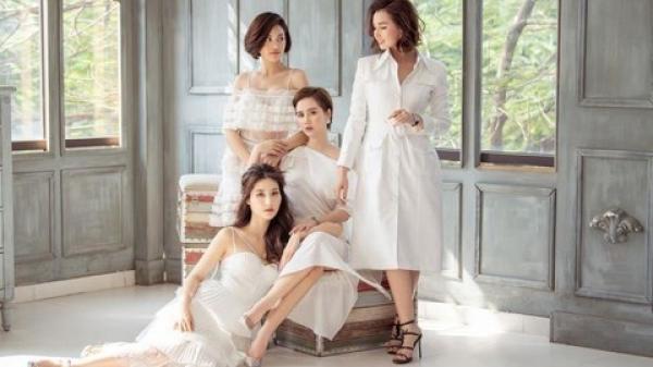 Diễm My 9X khoe sắc cùng dàn mỹ nhân Hà thành