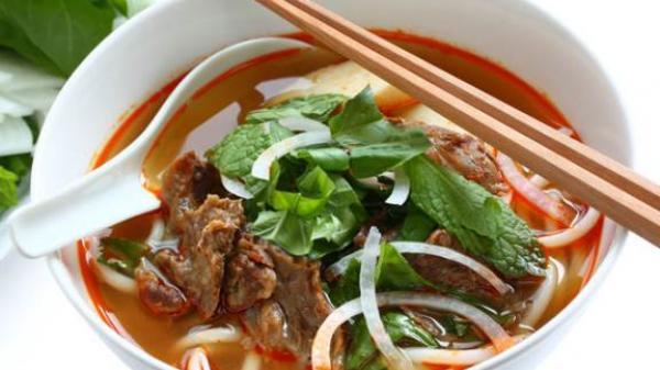Tổng hợp các quán bún bò ngon nức tiếng ở Đồng Nai