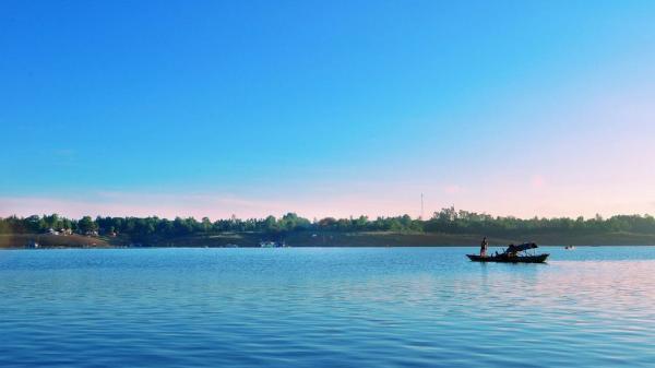 Về Đồng Nai, nhớ ghé thăm Đảo Ó – một ốc đảo xanh xanh giữa muôn trùng sóng nước!