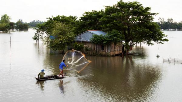 Kí ức làng nghề mùa nước nổi...