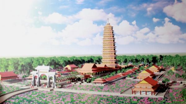 Đồng Tháp khởi công xây dựng Thiền viện Trúc Lâm Tháp Mười