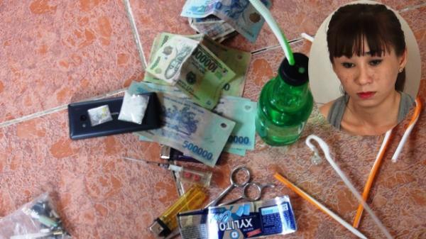 Đồng Tháp: Bắt 'nữ quái' buôn bán tàng trữ chất ma túy