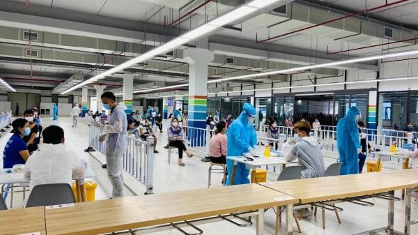 Bắc Giang: Tìm người đi trên chuyến xe chở người lao động của Công ty Samsung