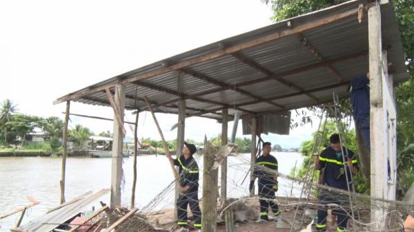 Cần Thơ: Sạt lở tại huyện Phong Điền gây thiệt hại tài sản khoảng 220 triệu đồng