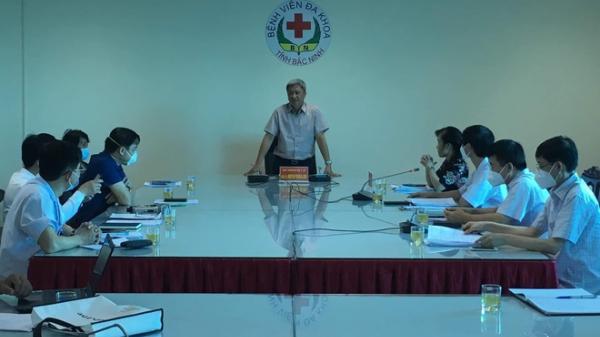 Bộ Y tế yêu cầu Bắc Ninh đảm bảo an toàn cho nhân viên y tế