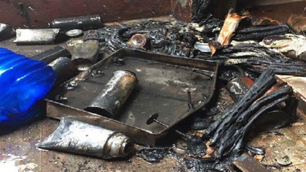 Gia Lai: Nổ bình gas, chủ cửa hàng bị bỏng nặng