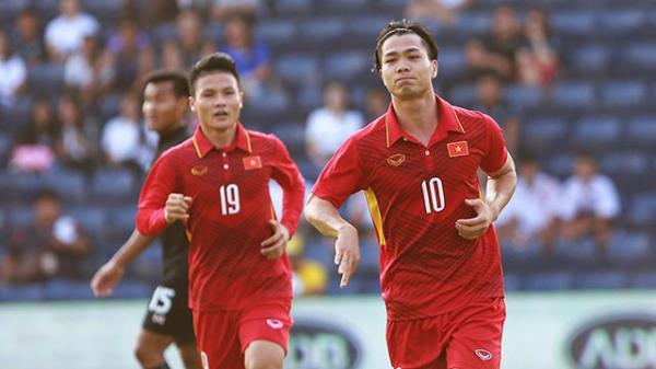 'Xé lưới' U23 Thái Lan, Công Phượng ghi nhiều bàn thắng nhấtViệt Nam trong năm 2017
