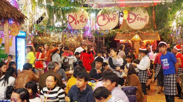 Gia Lai:  Náo nức phiên chợ Đông tại Quán Nhà Tôi