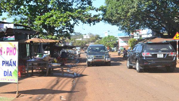 Gia Lai: Nguy cơ mất an toàn giao thông trên tỉnh lộ 664