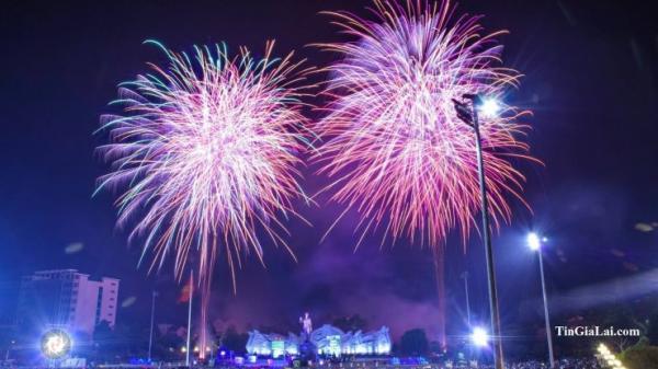 Hot hot: Tp. Pleiku, Gia Lai sẽ bắn pháo hoa rực rỡ đêm Giao thừa 2018