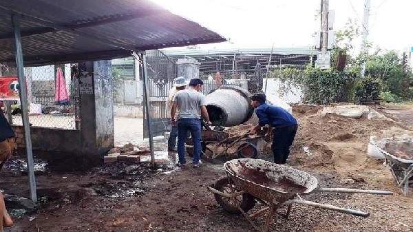 Gia Lai: Cô trò vận động xây chợ, BVMT nông thôn