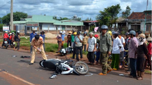 Gia Lai: Không xem xét thi đua địa phương tai nạn giao thông tăng