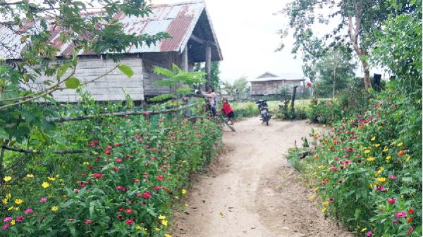 Sức hút của ngôi làng giữa hai dòng sông ở Gia Lai