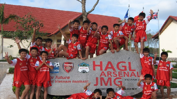 Chùm ảnh: Ngắm sao U23 thời 'con nít' ở Học viện bóng đá Hoàng Anh Gia Lai